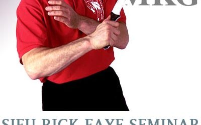 Sifu Rick Faye UK Seminar – Sunday 16th October 2016