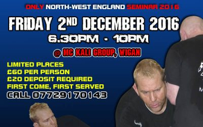 Erik Paulson UK Seminar 2016 Friday 2nd December 2016
