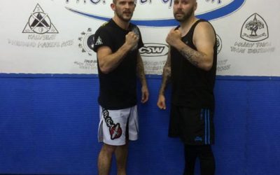 Good Luck To Gaz & Mike On Their First MMA Fight