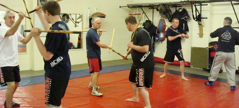 stick fighting kali class