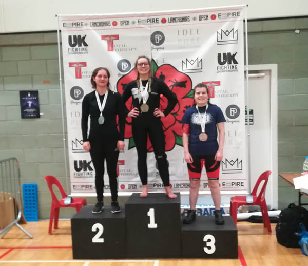 Steph Wins Bronze at Empire Grappling 8 in Manchester