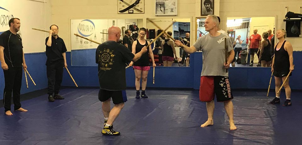 stick fighting kali class