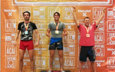 Calvin Wins Bronze in Debut at All Stars BJJ Summer Edition 2019