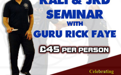 Rick Faye UK Seminar 2019 – SOLD OUT