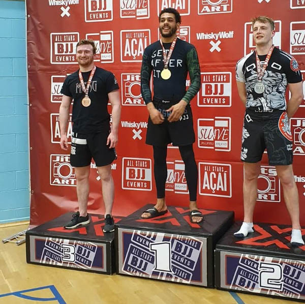 Jake Wins Bronze in Debut at All Stars BJJ Northern Pro 2019