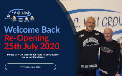 Gym Re-Opening on 25th July 2020
